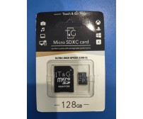 Touch and Go Micro SD 128 GB накопитель UHS-3 Ultra High Speed (TG-128GBSD10U3-01)