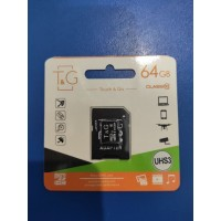 Touch and Go Micro SD 64 GB накопитель UHS-3 10 Class