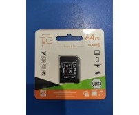 Touch and Go Micro SD 64 GB накопитель UHS-3 10 Class (G-64GBSDU3CL10-01)