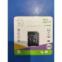 Touch and Go Micro SD 32 GB накопитель UHS-3 10 Class