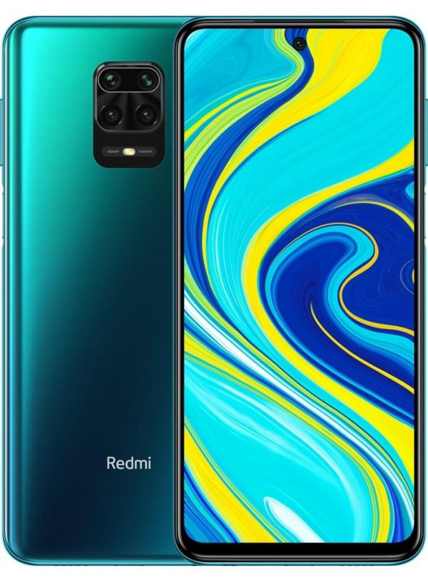 Redmi Note 9S 4/64GB Aurora Blue  + защитное стекло В ПОДАРОК