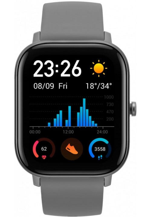Умные часы Xiaomi  Amazfit GTS Lava Gray