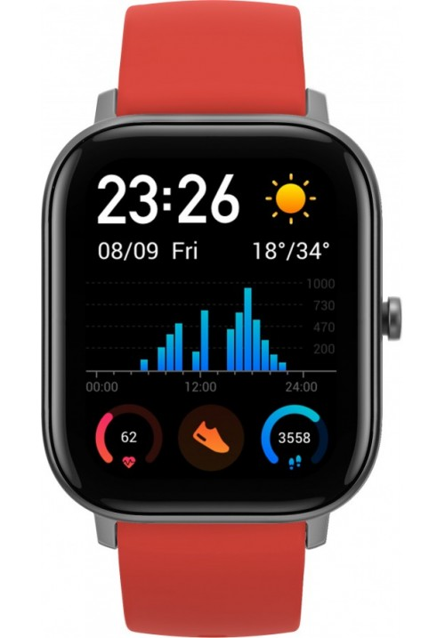 Умные часы Xiaomi Amazfit GTS Vermillion Orange