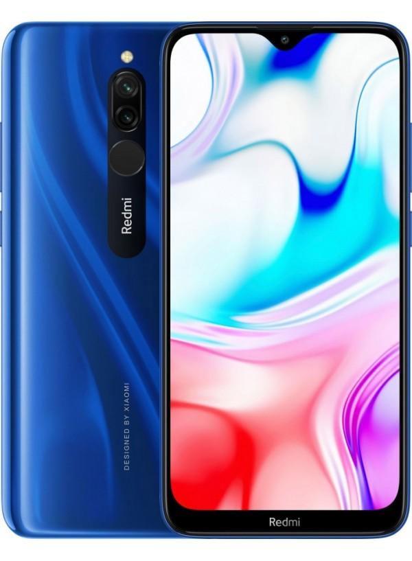 Redmi 8 4/64GB Sapphire Blue + защитное стекло В ПОДАРОК