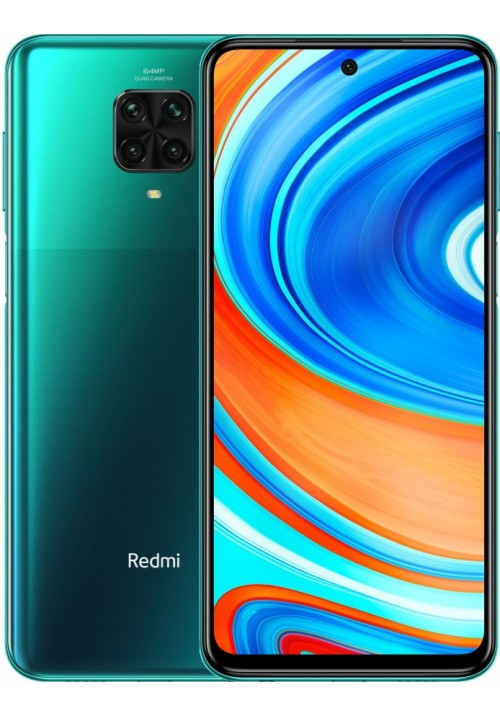 Redmi Note 9 Pro 6/128GB Tropical Green + защитное стекло В ПОДАРОК