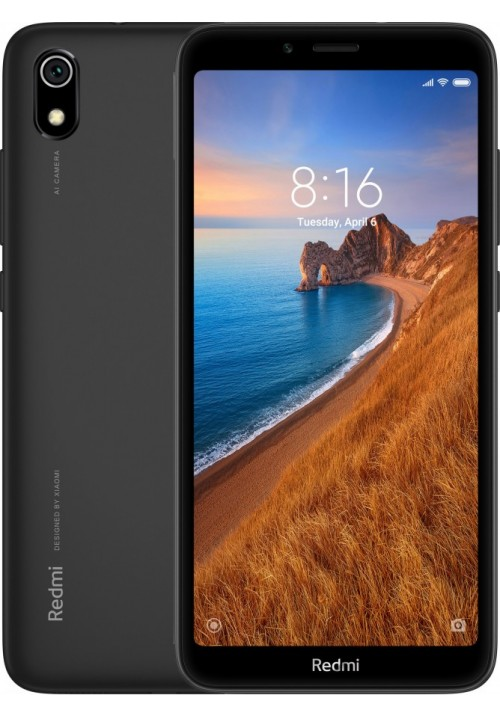 Redmi 7A 2/32GB Matte Black + защитное стекло В ПОДАРОК
