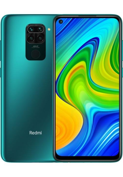 Redmi Note 9 4/128GB Forest Green NFC + захисне скло В ПОДАРУНОК
