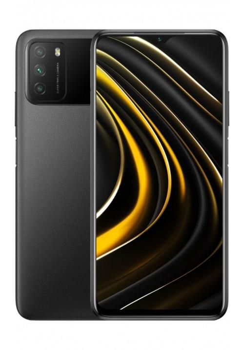 Poco M3 4/128GB Black + захисне скло В ПОДАРУНОК