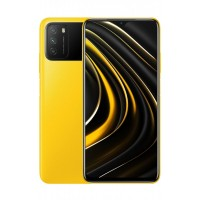 Poco M3 4/128GB Yellow + захисне скло В ПОДАРУНОК