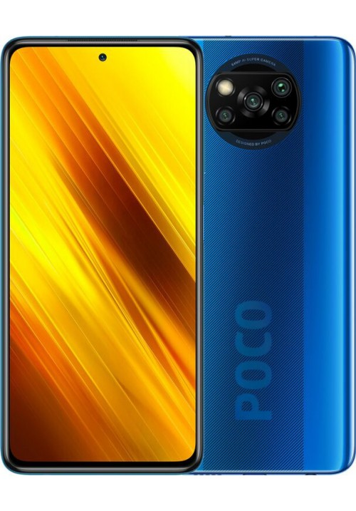 Poco X3 6/128GB Cobalt Blue + захисне скло В ПОДАРУНОК